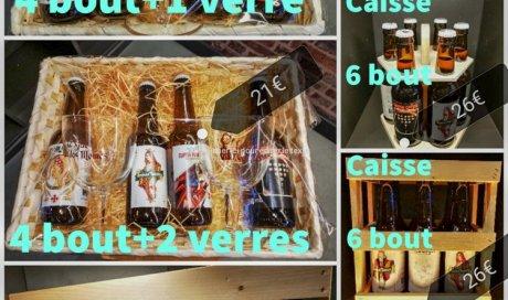 coffrets cadeaux bière artisanale